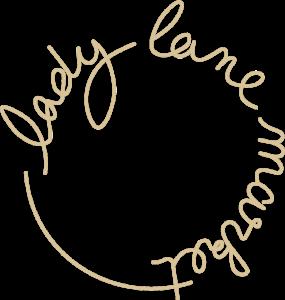 Lady Lane Market roundel logo gold sand 800