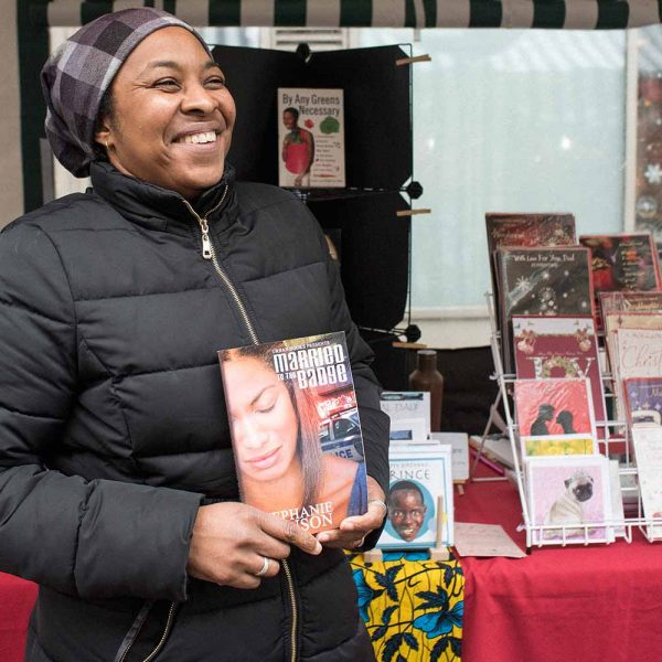 Trader Hettie Cyrille of The Black Gift Shop